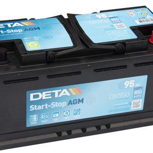 Deta start - stop AGM technology