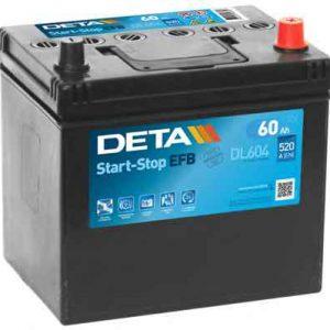 Deta start - stop EFB/ECM technology